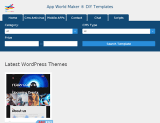 diytemplates.appworldmaker.com screenshot