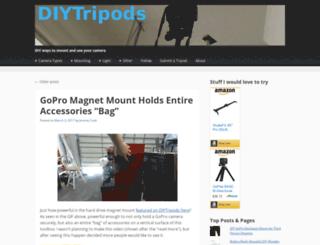 diytripods.com screenshot