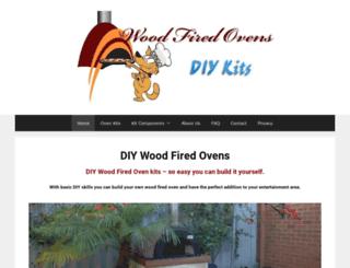 diywoodfireovensqld.com.au screenshot