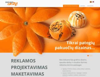 dizainodoze.lt screenshot