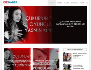 dizihaber.net screenshot
