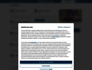 dizionari.corriere.it screenshot