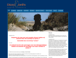 dizzybells.nl screenshot