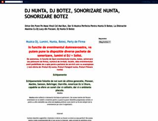 dj-djnunta-djbotez-djaniversare.blogspot.ro screenshot