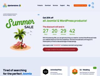 dj-extensions.com screenshot