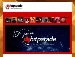 dj-hitparade.de screenshot