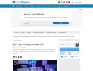 dj-mixing-software-review.toptenreviews.com screenshot