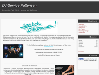 dj-service-pattensen.de screenshot