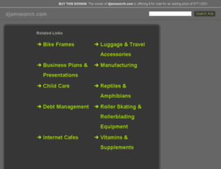 djamsearch.com screenshot