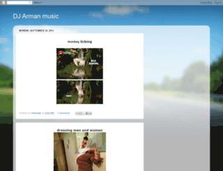 djarmanmusic.blogspot.de screenshot