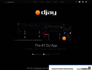 djay-software.com screenshot
