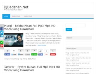 djbadshah.net screenshot