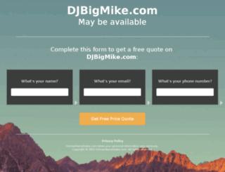 djbigmike.com screenshot