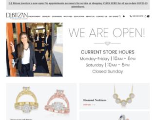 djbitzan.com screenshot
