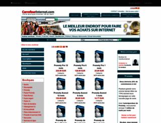 djbled.carrefourinternet.com screenshot