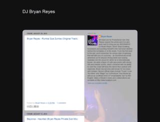 djbryanreyes.blogspot.com screenshot