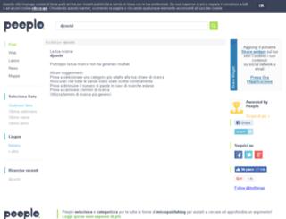 djcochi.splinder.com screenshot