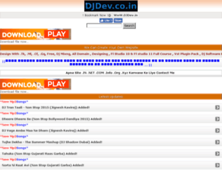 djdev.co.in screenshot