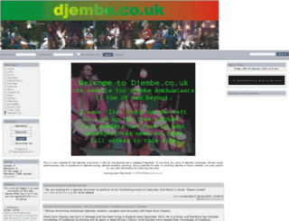 djembe.co.uk screenshot