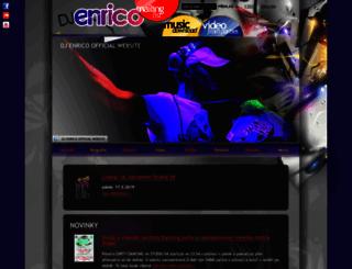 djenrico.cz screenshot