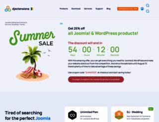djextensions.com screenshot