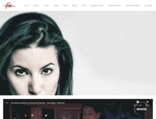 djfernandamartins.com screenshot