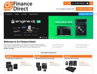 djfinancedirect.co.uk screenshot