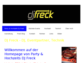 djfreck.ch screenshot