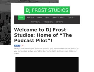 djfroststudios.com screenshot