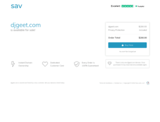 djgeet.com screenshot