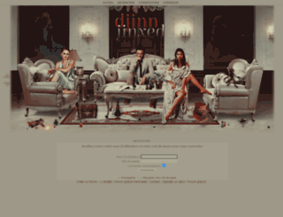 djinn-jinxed.forumactif.org screenshot