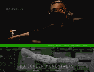 djjgreen.com screenshot