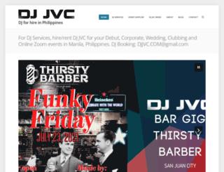 djjvc.wordpress.com screenshot