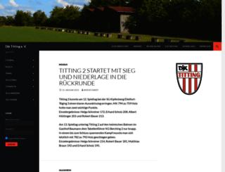 djk-titting.de screenshot
