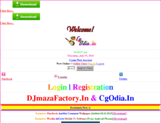 djmazafactory.in screenshot