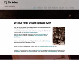 djmcadam.com screenshot
