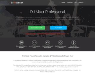 djmixersoft.com screenshot