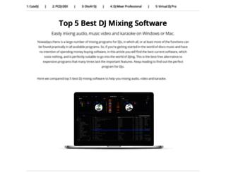 djmixingsoftware.net screenshot