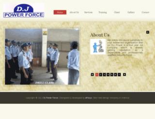 djpowerforce.com screenshot