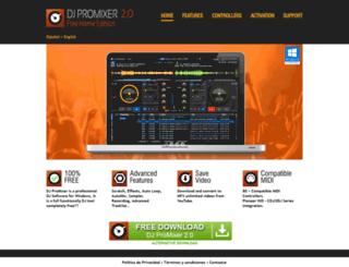 djpromixer.com screenshot