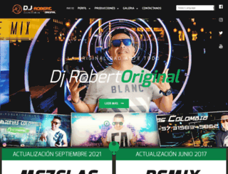 djrobertoriginal.com screenshot