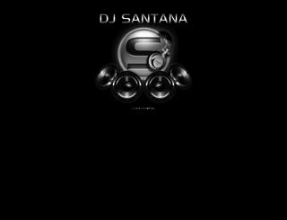 djsantana.com screenshot