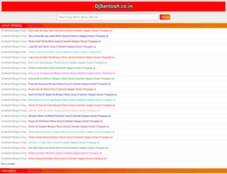 djsantosh.co.in screenshot