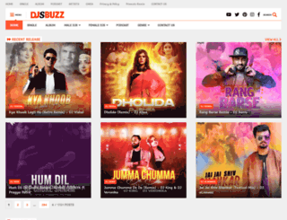 djsbuzz.in screenshot