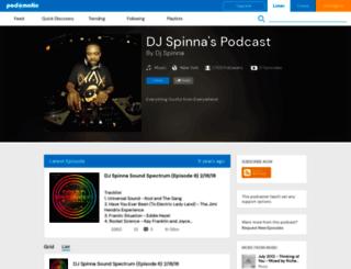 djspinna.podomatic.com screenshot