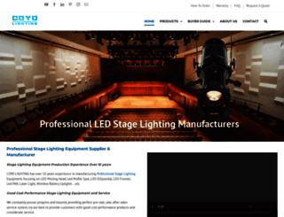 djstagelighting.com screenshot