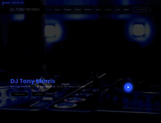 djtonymorris.com screenshot