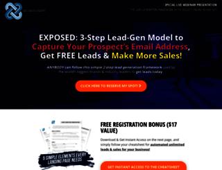 djw1618.weeklymarketingwebinars.com screenshot