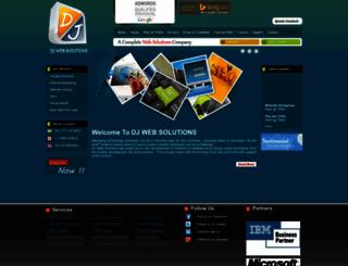 djwebsolution.com screenshot