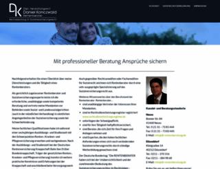 dk-rentenberatung.de screenshot